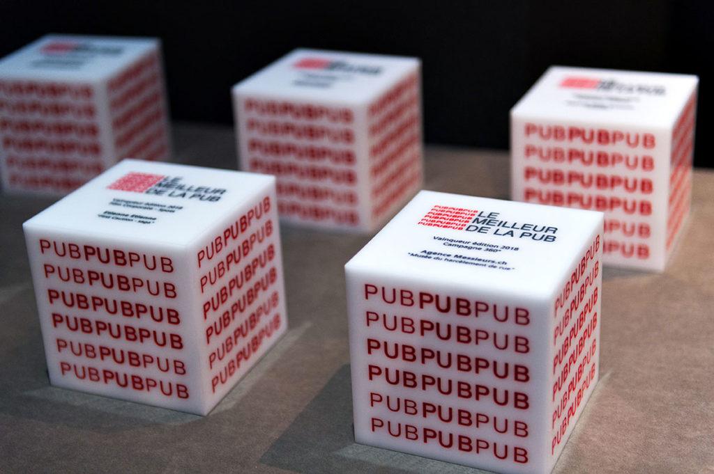 Cubes du Meilleur de la Pub 2018